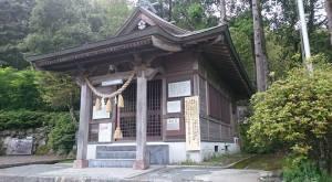 鹿児島県八房神社の本殿