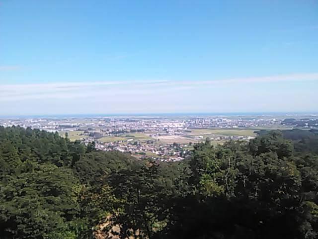 熊野那智神社の景色