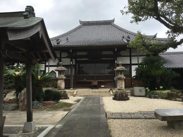 愛知県上世山 傳宗院の本殿