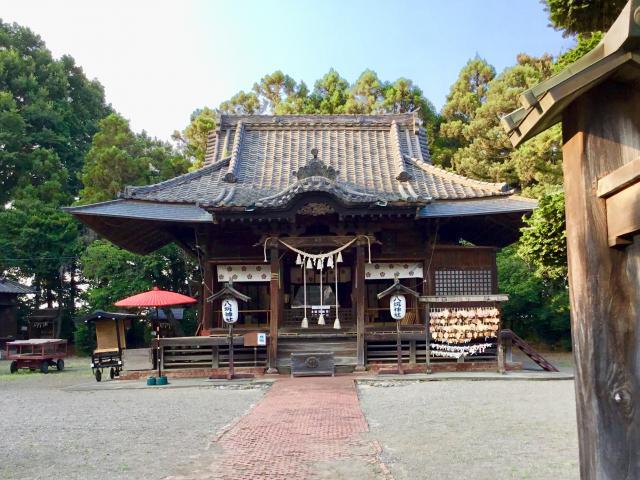 群馬県八坂神社の本殿