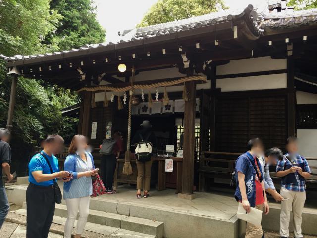 大阪府安居神社の本殿