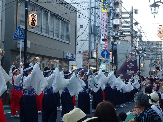 高砂八幡神社のお祭り