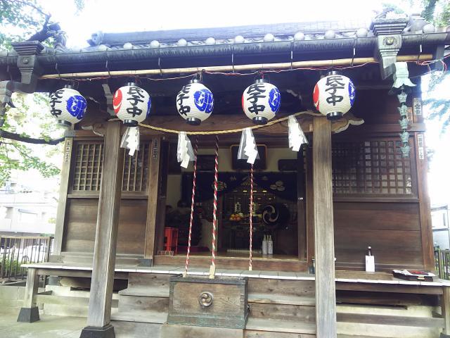 埼玉県高砂八幡神社の本殿