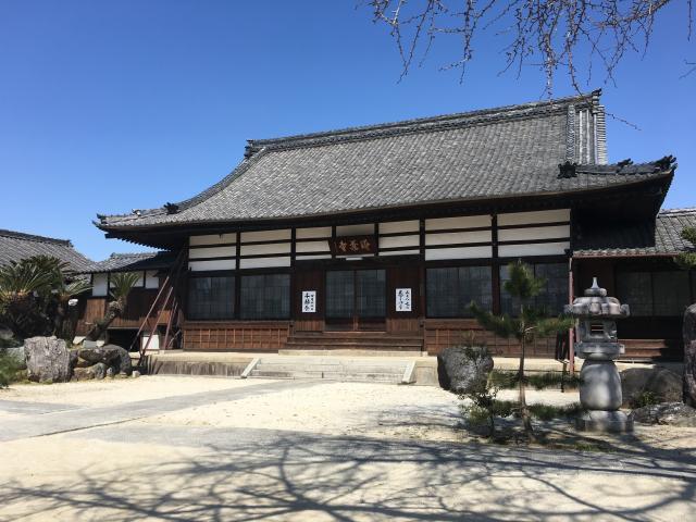 愛知県清涼山 海蔵寺の本殿