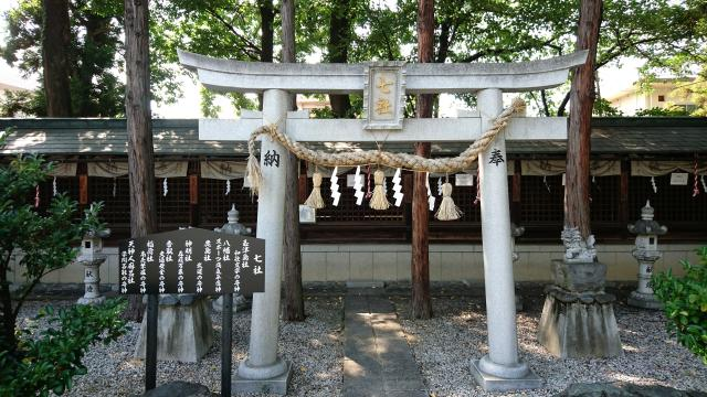 山梨県住吉神社の末社