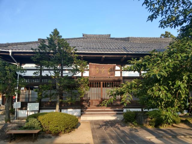 福島県長楽寺の本殿