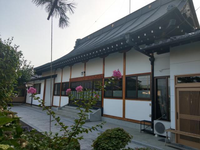 福島県宝積寺の本殿