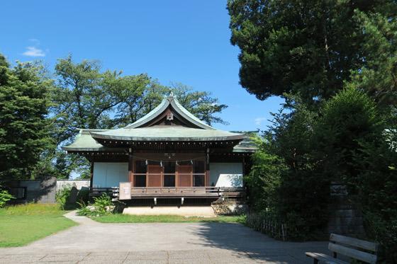 東京都鷺宮八幡神社の本殿
