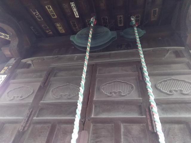 埼玉県浅古家の地蔵堂の本殿