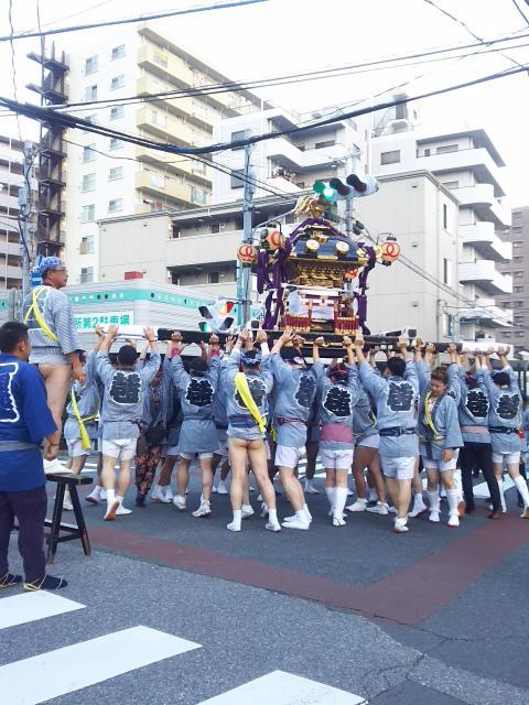 埼玉県浅古家の地蔵堂のお祭り