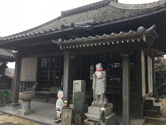 愛知県達磨山 葦航寺の本殿