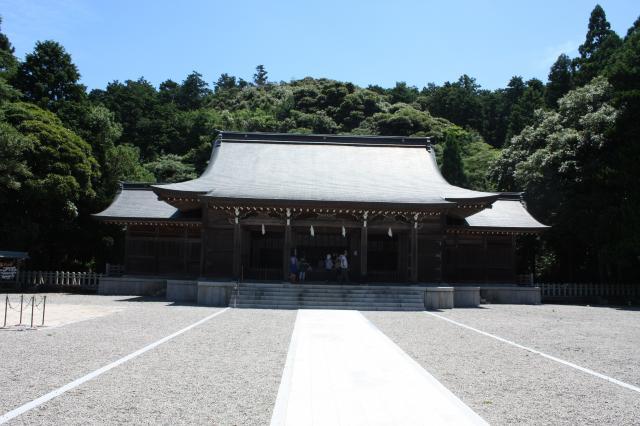 島根県隠岐神社の本殿