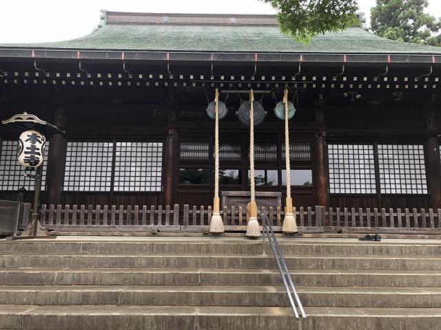 千葉県本土寺の本殿
