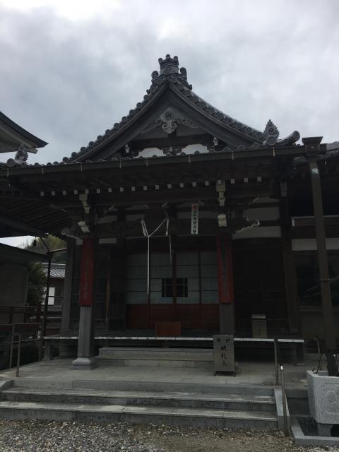 大悲山 正法寺の本殿