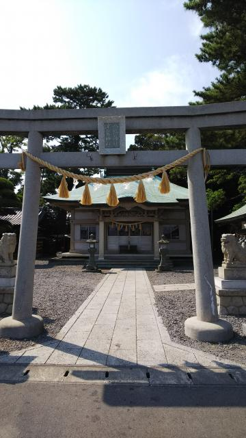 静岡県八幡津島神社の本殿