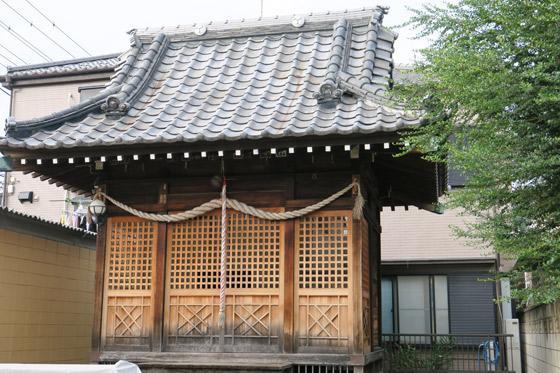 東京都椿日枝神社の本殿
