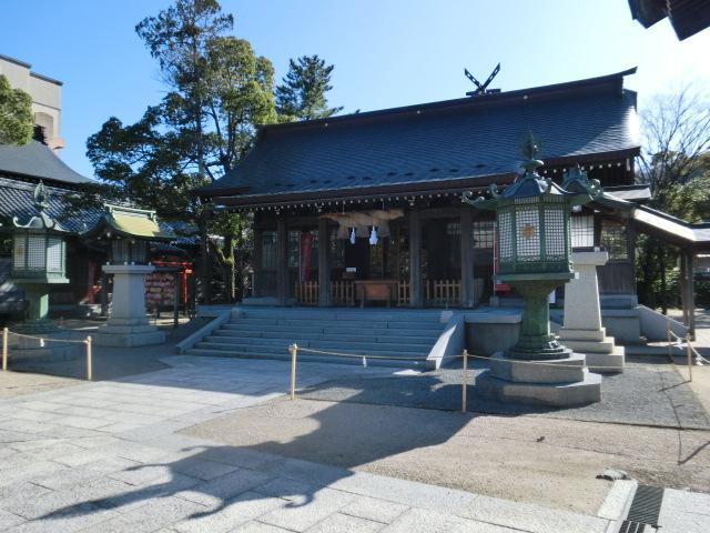 鳥取県賀茂神社天満宮の本殿