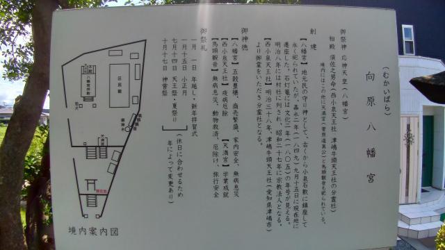 静岡県向原八幡宮の建物その他