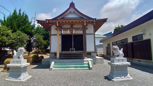 静岡県向原八幡宮の本殿