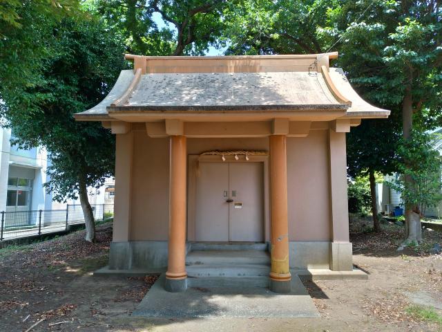 第六天神社の本殿