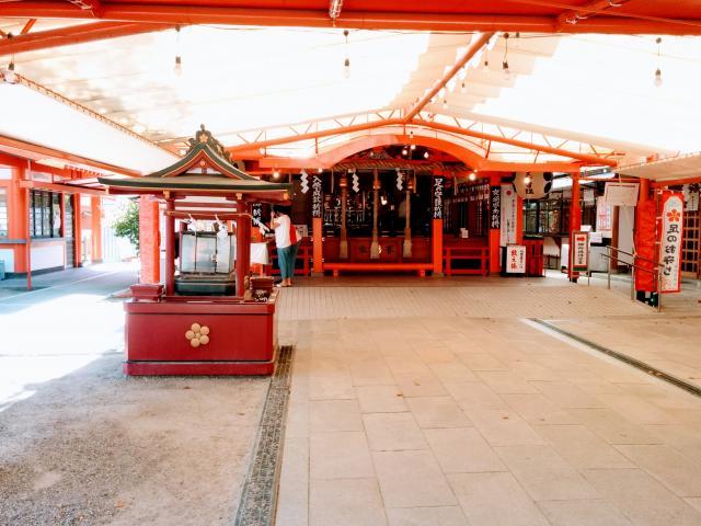 服部天神宮の本殿