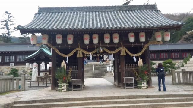 岡山県吉備津彦神社の本殿