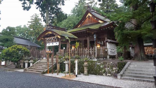 鳥取県宇倍神社の本殿