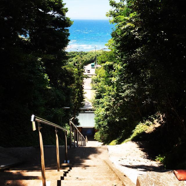 洲崎神社の景色