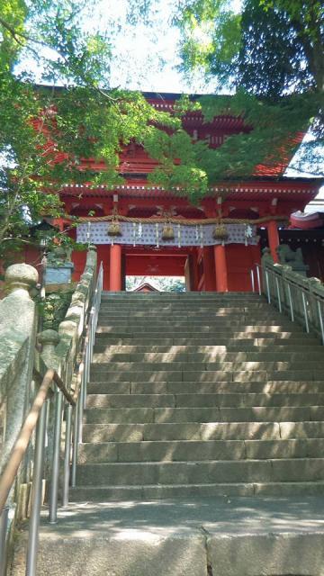 山口県住吉神社の山門