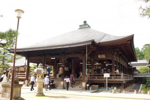 京都府智恩寺の本殿