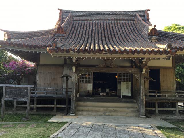 沖縄県金武観音寺の本殿