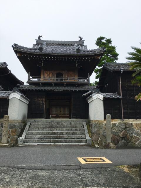 愛知県海雲山 普門寺の山門