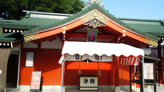 三毳不動尊の本殿