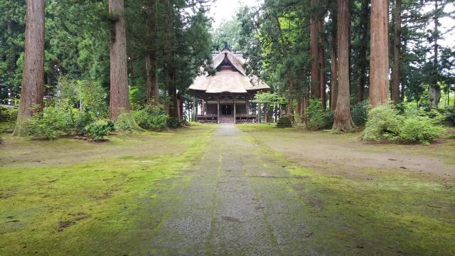 神宮寺の本殿