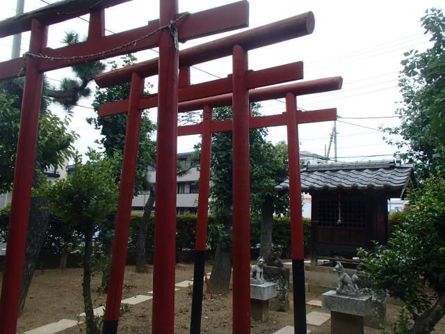 埼玉県稲荷神社の鳥居