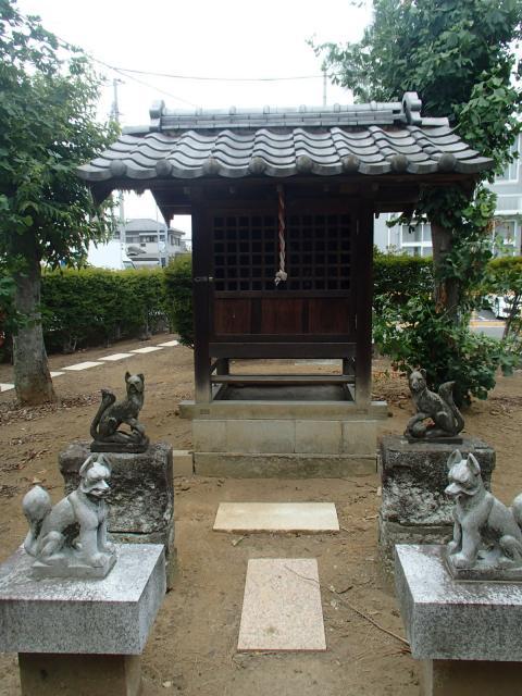 埼玉県稲荷神社の本殿