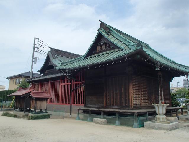 埼玉県七座下稲荷神社の本殿