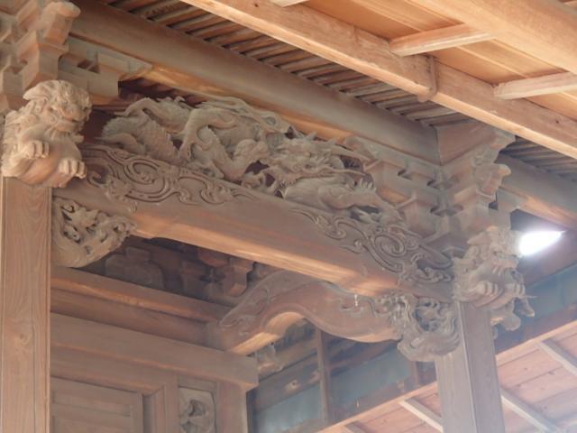 七座下稲荷神社の芸術