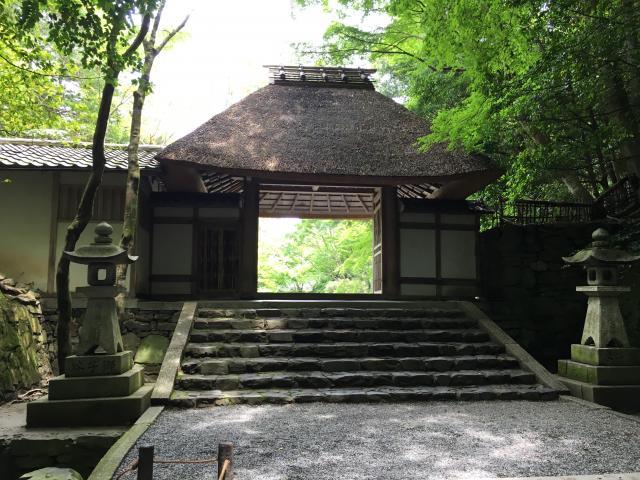 京都府法然院の山門