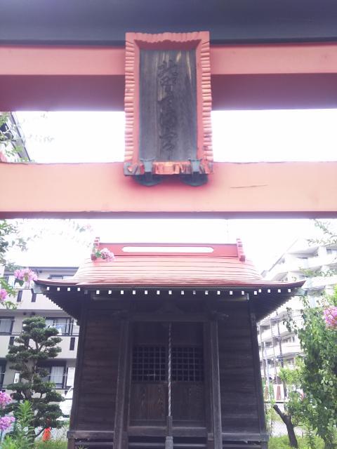 北野天満宮(七座下稲荷神社飛地)の本殿