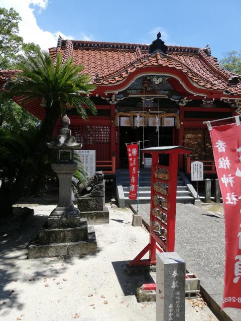 佐賀県香椎神社の本殿
