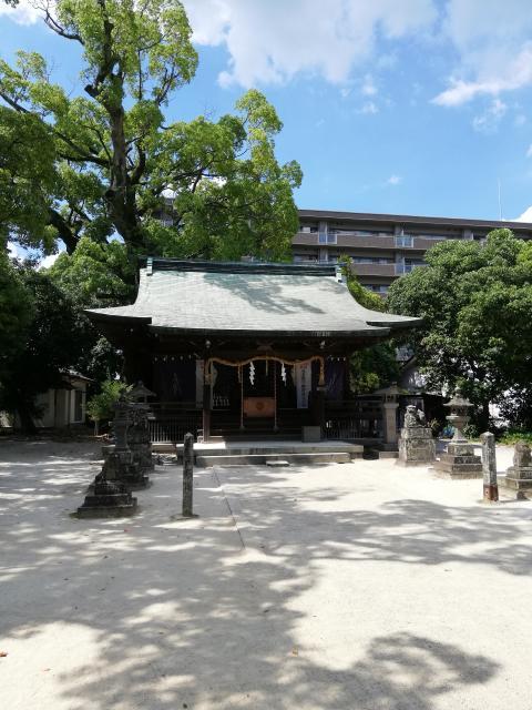 佐賀県堀江神社の本殿