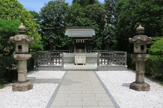 恵比寿神社の本殿