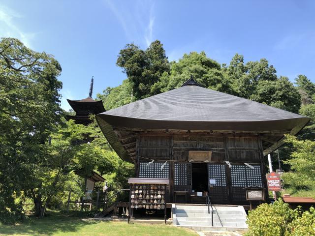 長野県大法寺の本殿