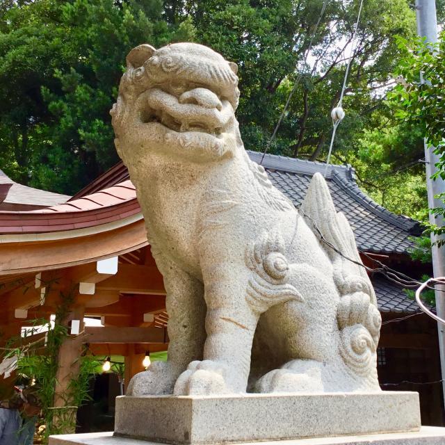 印内八坂神社の狛犬