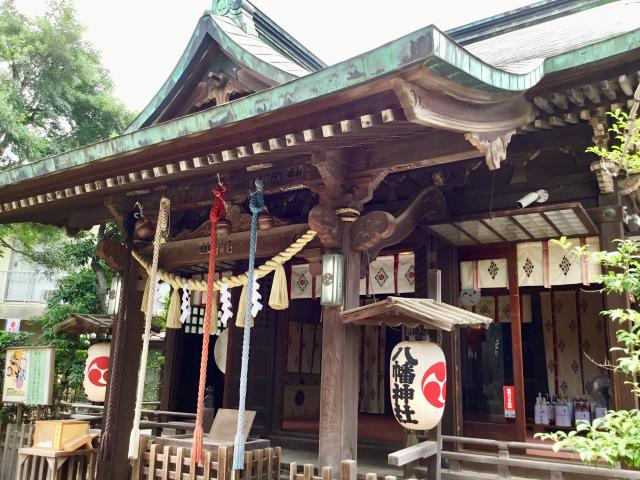東京都八幡神社の本殿