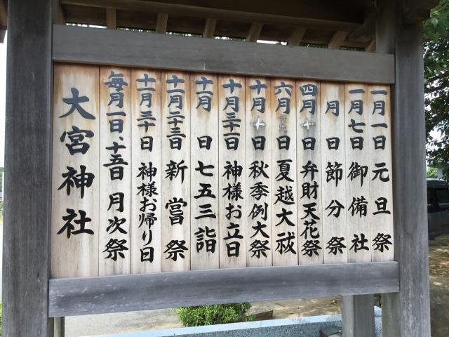 大宮神社の歴史