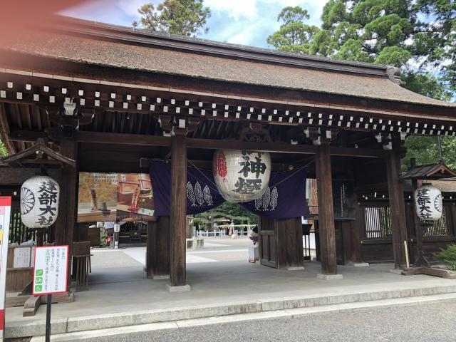 滋賀県建部大社の本殿
