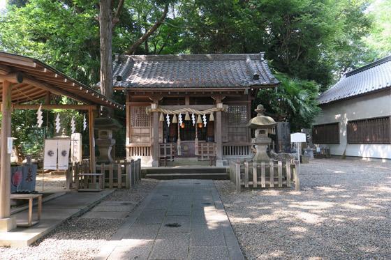 東京都浅間神社の本殿