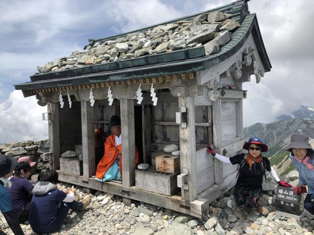 立山頂上雄山神社峰本社の本殿